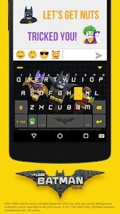 LEGO Batman Kika KeyboardTheme APK for Kindle Fire