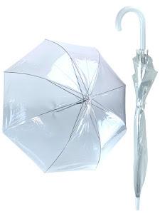 Зонт прозрачный, L