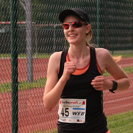 City Running in Zwettl 1 by Franz  Adolf - Sports & Fitness Running ( sports, running )