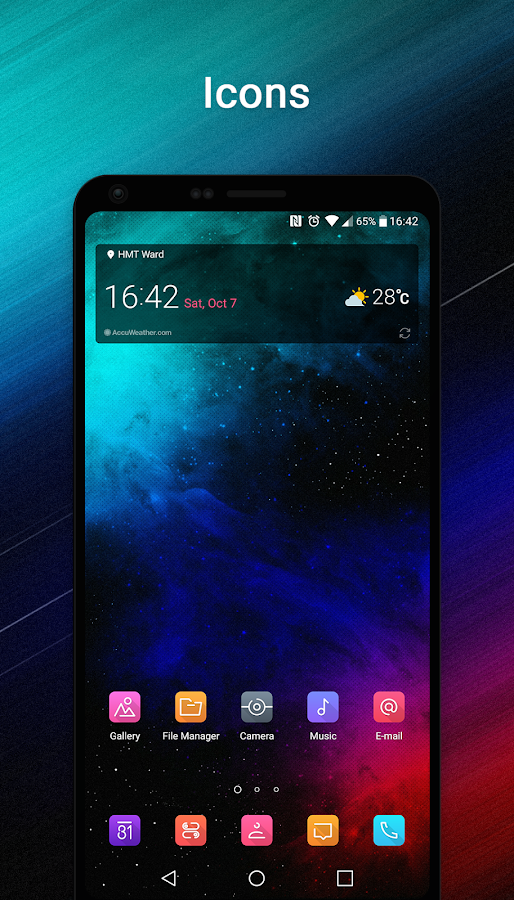 Theme für LG G6 android apps download