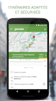Screenshot of Geovelo Lyon