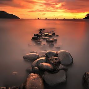 rows of stone by Fre Ghothic - Landscapes Waterscapes