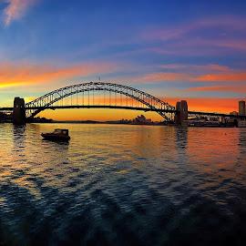 Sydney Sunrise  by Angela Taya - Instagram & Mobile iPhone
