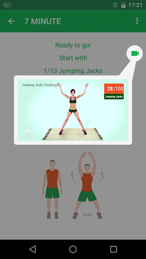 7 Minute Workout Screenshot 3