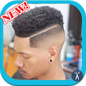 Curly Hairstyle For Black Men APK for Bluestacks