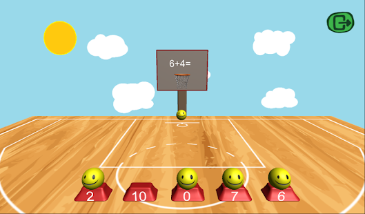 Math BasketBall - screenshot