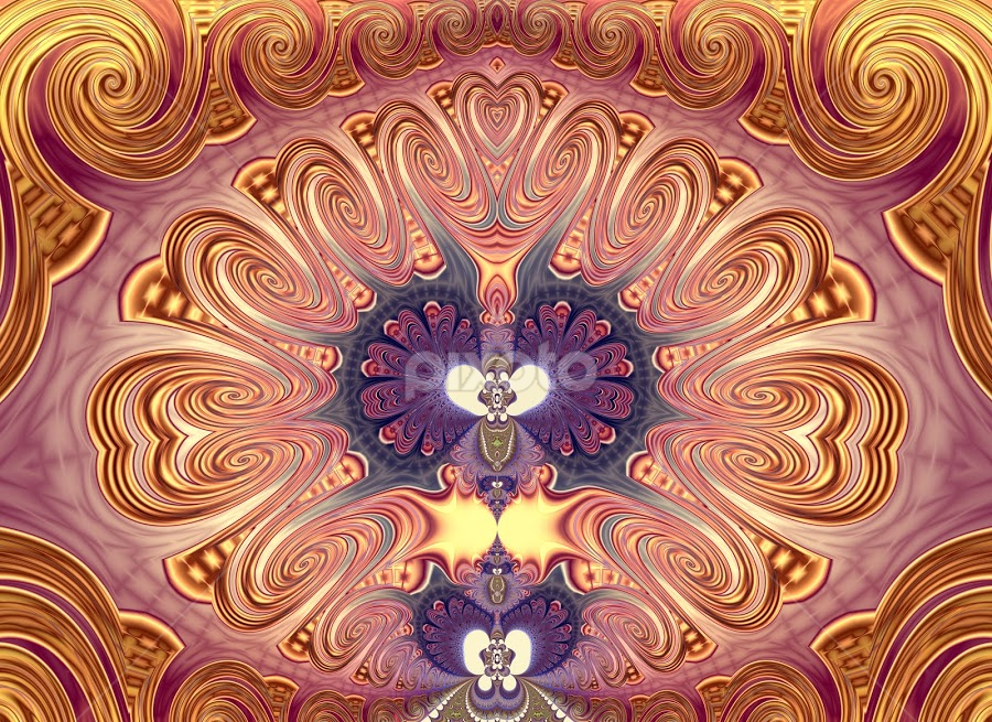 Abstract by Cassy 67 - Illustration Abstract & Patterns ( digital, love, fractalart, classic, abstract art, modern, fractalgeometry, fractal, abstract, fractals, digital art, energy )