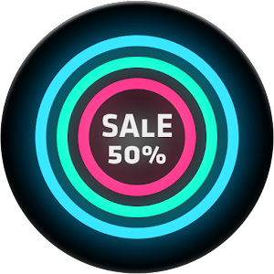 Neon Glow C - Icon Pack APK Cracked Download