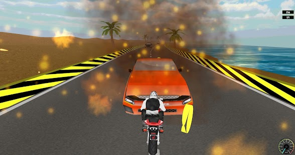 Clash of Bikes 3D 2016 - screenshot