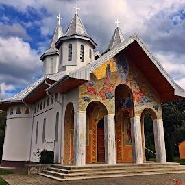 Monastery  by Dobrin Anca - Instagram & Mobile iPhone ( holiday, prayer, monastery, bucium, wonderful,  )