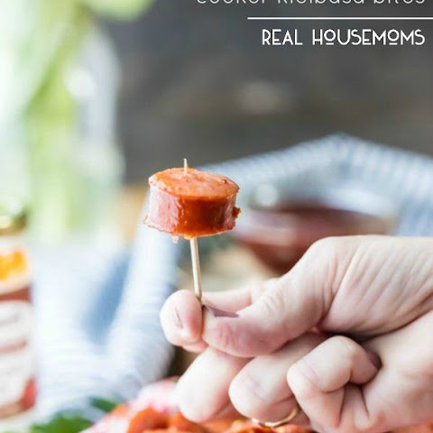 Sweet and Spicy Slow Cooker Kielbasa Bites