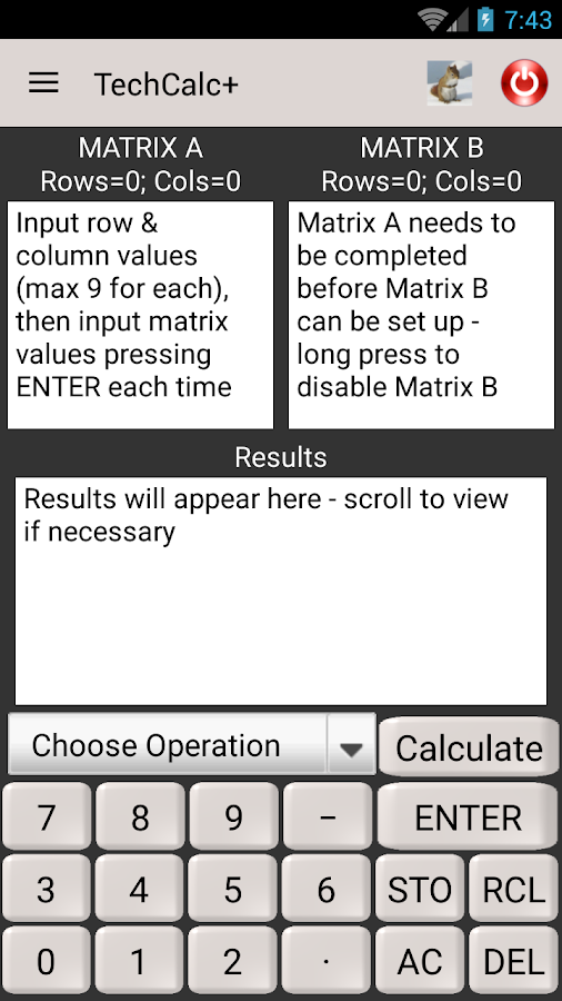 Scientific Calculator (adfree) Screenshot 6