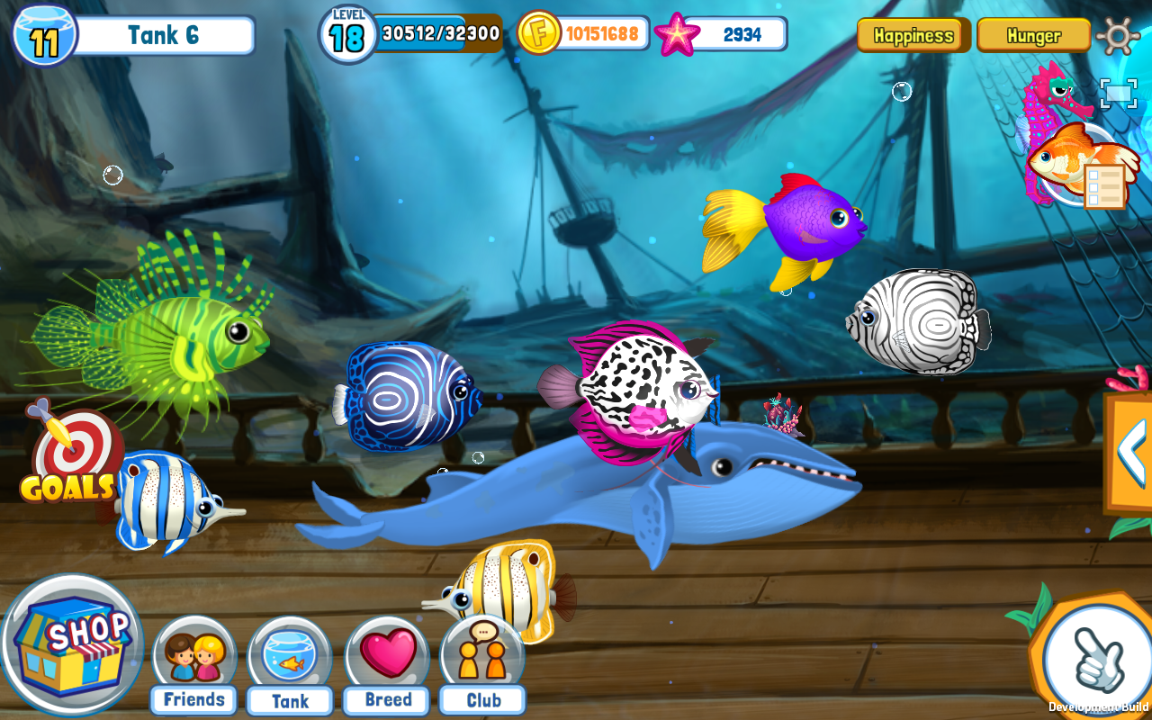 Fish Adventure Seasons Screenshot