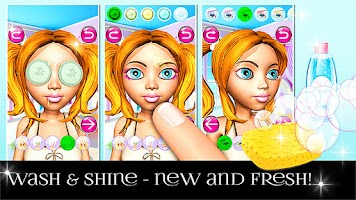 Screenshot of Princess 3D Salon - Beauty SPA