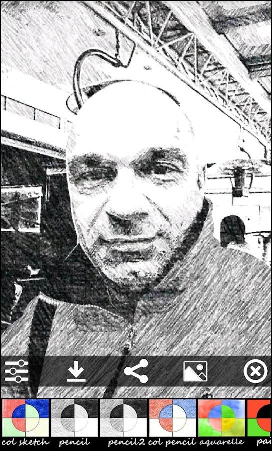 Sketch Camera Screenshot 3