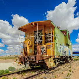 End of the Line by Ralph Resch - Transportation Trains ( train )