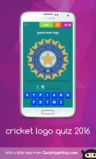 Cricket Quiz logo - screenshot