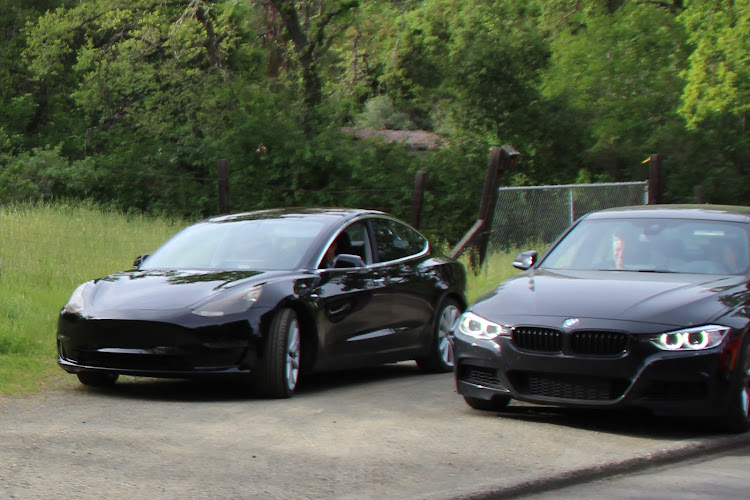 Tesla has been benchmarking the Model 3 against the BMW 3 Series