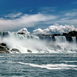 Niagara  by Tom Erik Frydenlund - Landscapes Waterscapes ( waterfall water, landscape )