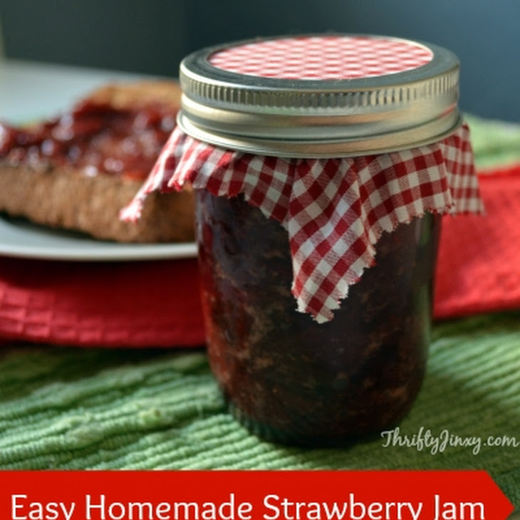 Preserving Strawberries Easy Easy Strawberry Jam