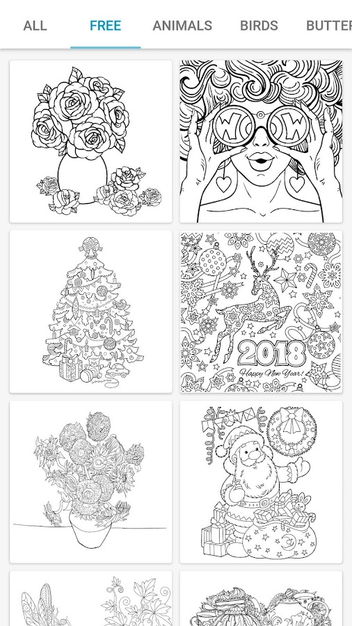 InColor - Coloring Books 2018 Screenshot 1