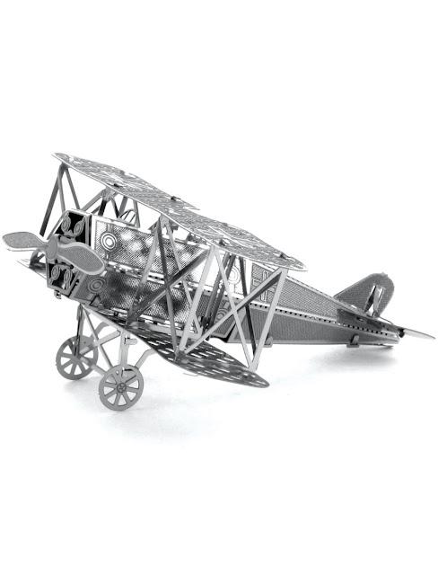 "3D Metal Puzzle сборная модель самолета ""Fokker"" L, серия Вундеркинд"
