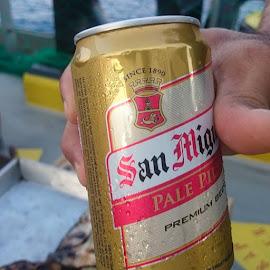 San Miguel Beer by Florante Lamando - Food & Drink Alcohol & Drinks