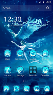 Dream Fantasy Theme - screenshot