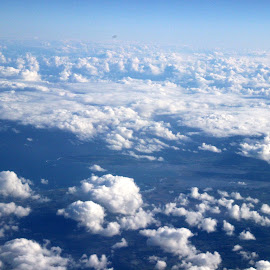 From above 2 by Janet Smothers - Landscapes Cloud Formations (  )