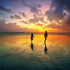 by Alit  Apriyana - Landscapes Sunsets & Sunrises