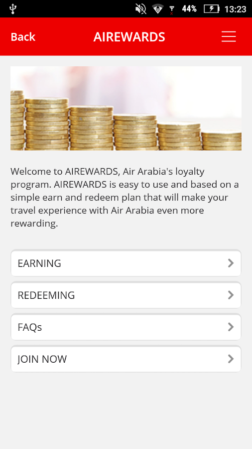 Air Arabia (official app) Screenshot 4