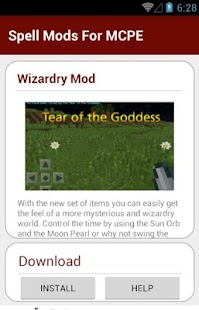 Spell Mods For MCPE - screenshot