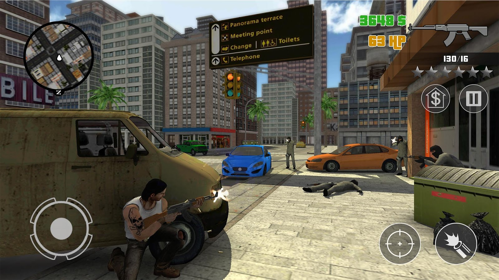 Clash of Crime Mad City War Go Screenshot 3