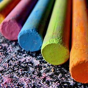 Chalk by Edwin   S. Loyola - Artistic Objects Other Objects