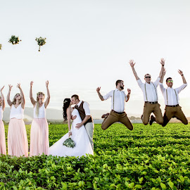 Joy by Lood Goosen (LWG Photo) - Wedding Groups ( wedding photography, wedding photographers, bridal party, brides, groom and bride, wedding dress, people, wedding party, wedding, weddings, wedding day, happy, bride and groom, wedding photographer, bride, groom, grooms, bride groom )