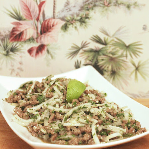 LARB MOO (thai spicy meat salad)