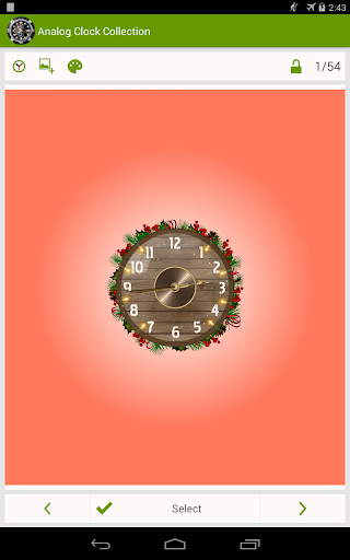 Analog Clock Wallpaper/Widget screenshot 20