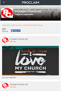 Proclaim Church Az - screenshot