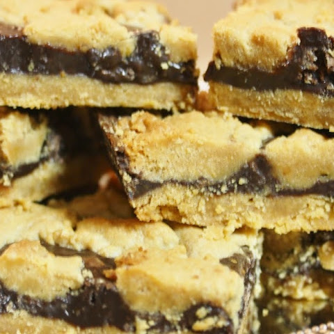 Cake Mix Chocolate Peanut Butter Bars