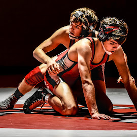 Calm Before the Storm by Jackie Nix - Sports & Fitness Other Sports ( tristen powell, grappling, prattville high school, wresting )