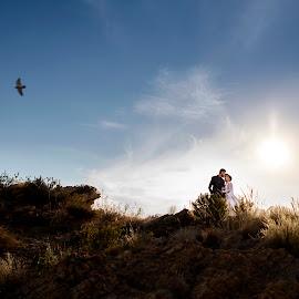 Mountain top by Lodewyk W Goosen (LWG Photo) - Wedding Bride & Groom ( wedding photography, married, wedding photographers, wedding day, weddings, wedding, bride and groom, wedding photographer, bride, groom, bride groom )