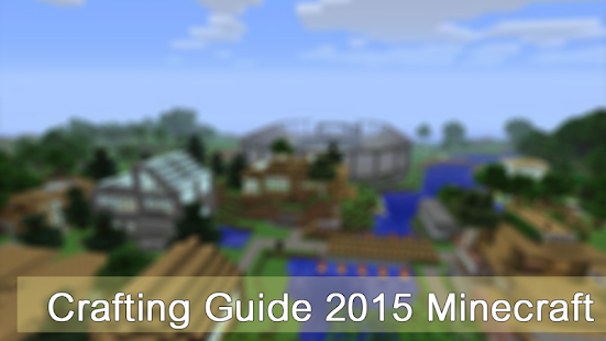 Crafting Guide 2015 Minecraft - screenshot