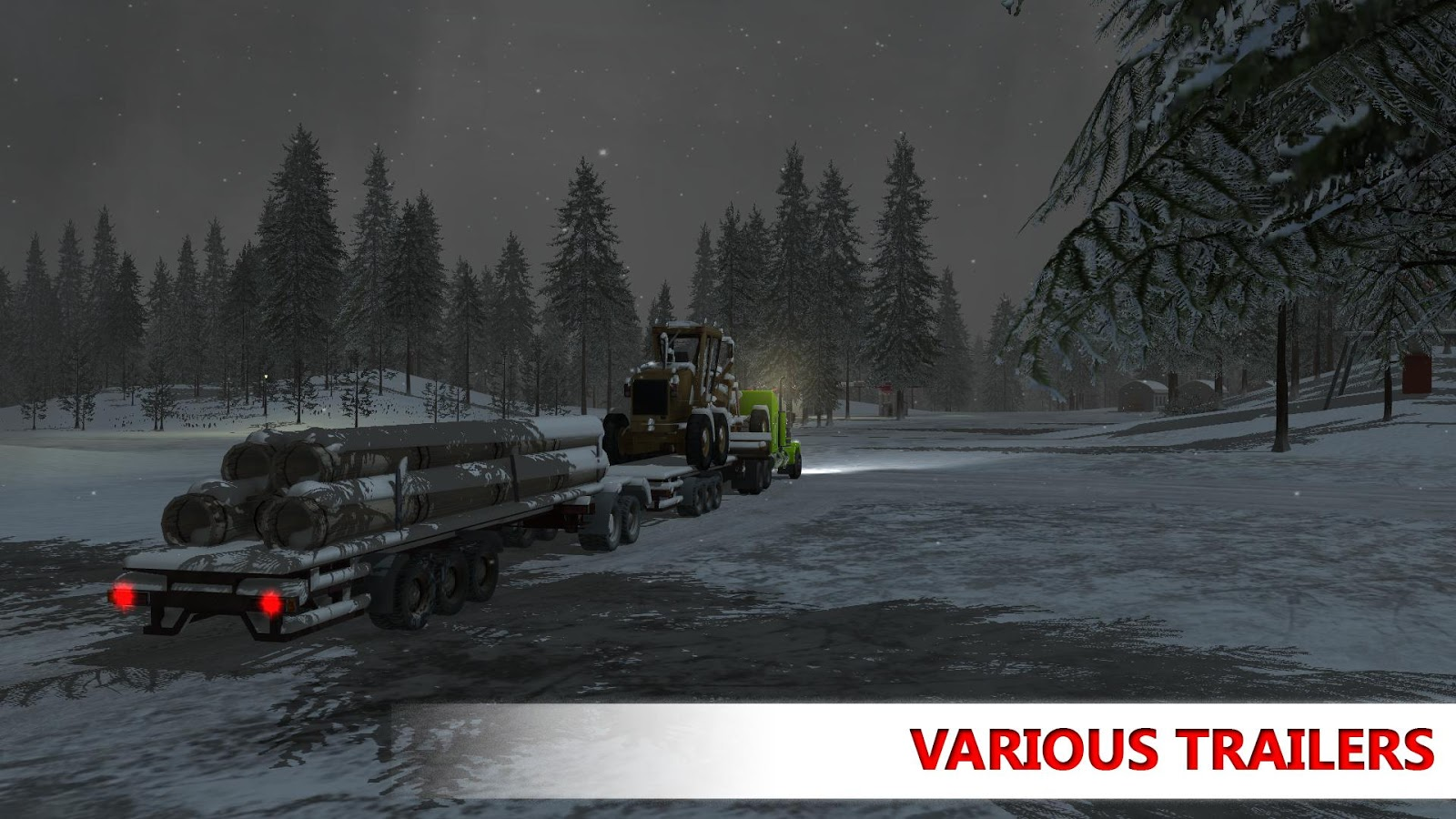 Arctic Trucker Simulator Screenshot 2