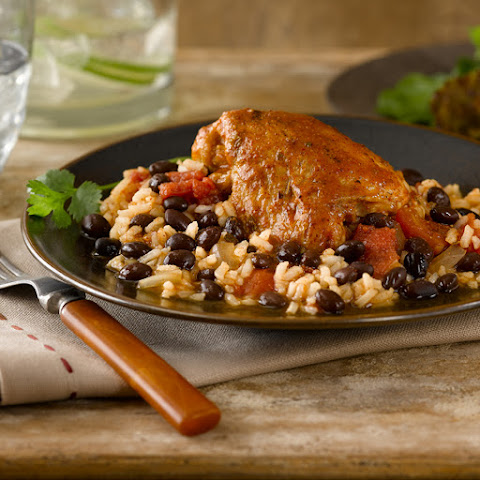 Bush's® Southwest Black Bean Chicken and Rice
