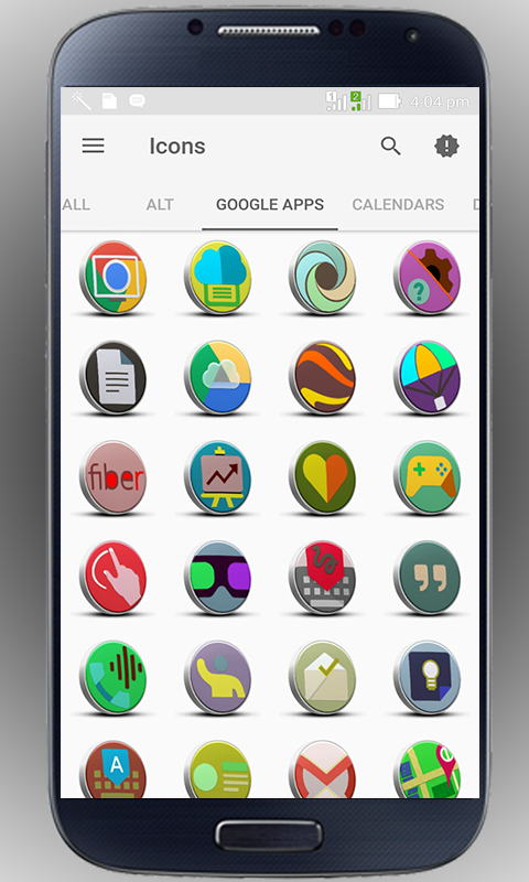 3D-3D - icon pack Screenshot 3