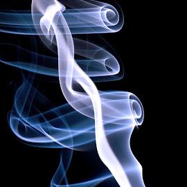 Smoke 3 by Larry Strong - Abstract Macro ( smoke,  )
