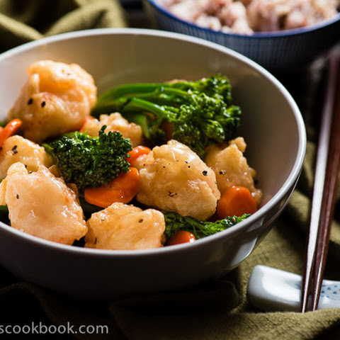 Lemon Shrimp Balls