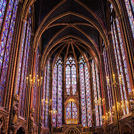 St. Chapelle by Jen Cornell - Buildings & Architecture Places of Worship
