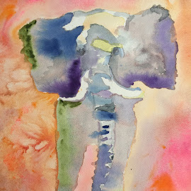 Out of Africa by Jeanne Knoch - Painting All Painting
