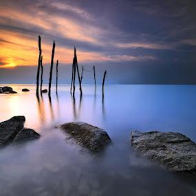 ::. Deep Blue Sea .:: by Echi Amenk Fariza - Nature Up Close Rock & Stone